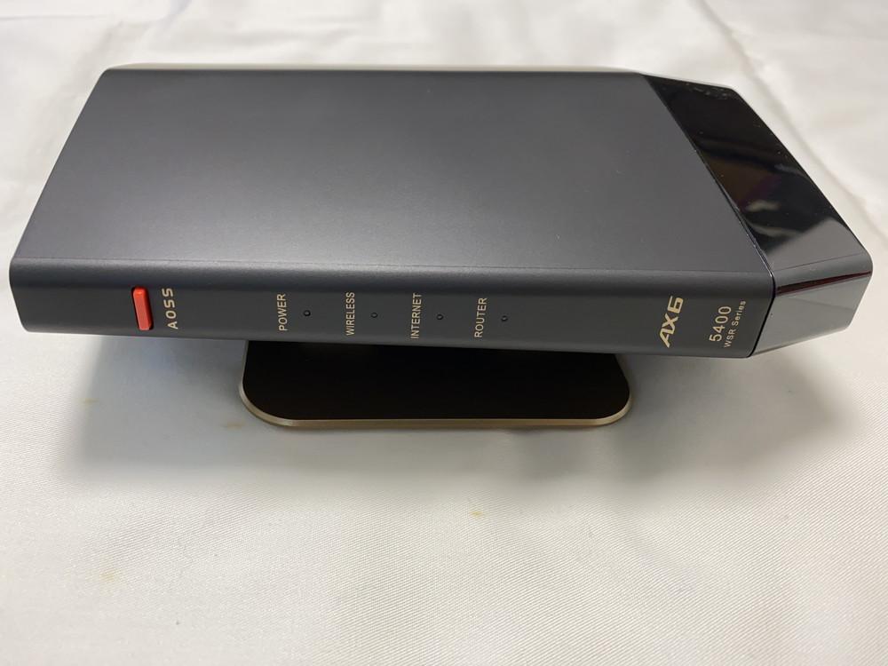 バッファローWSR-5400AX6 本体前面
