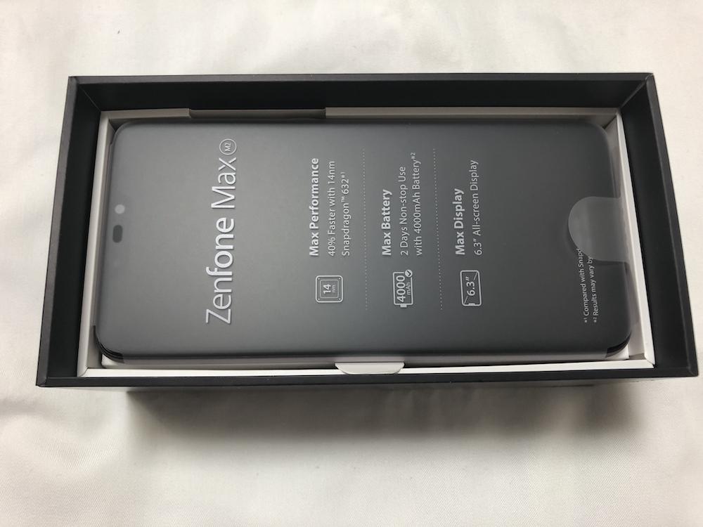 ZenFone Max(M2) 本体