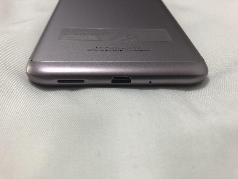 ZenFone Max(M2) 下部