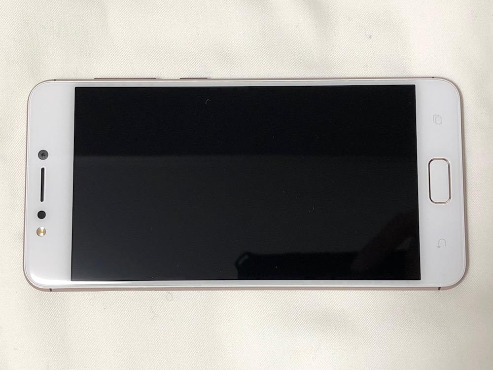 ZenFone4 Max本体前面