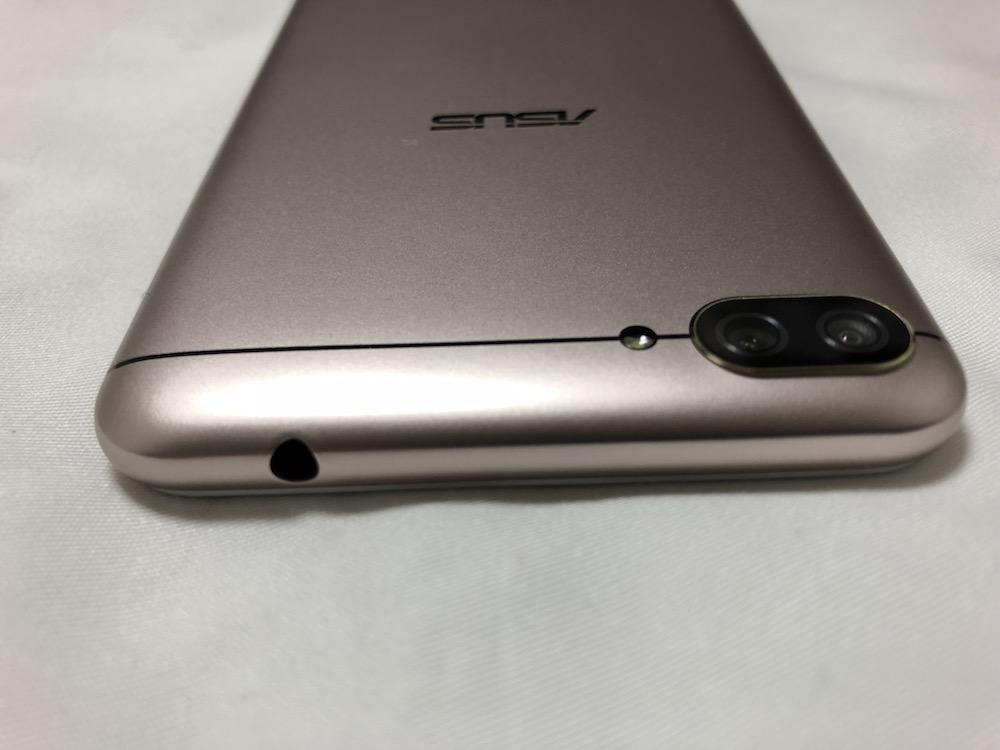 ZenFone4 Max本体上部
