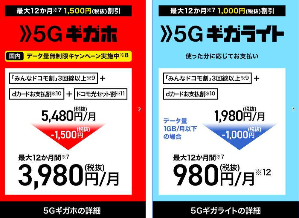 新規5G契約の方