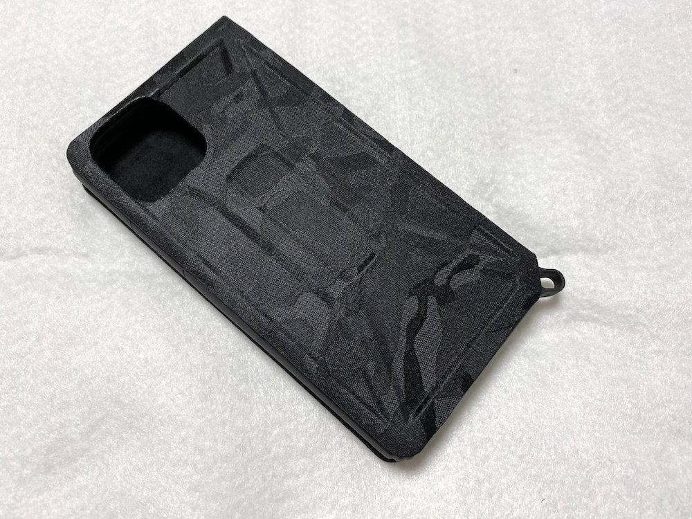 iPhone 11 Pro用ZEROSHOCK/フラップ 背面