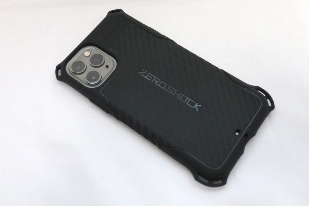 エレコム iPhone 11 Pro用ZEROSHOCK 背面